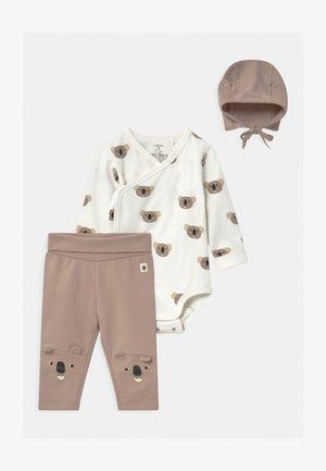 KOALA WRAP SET UNISEX - Pantalon classique - light beige