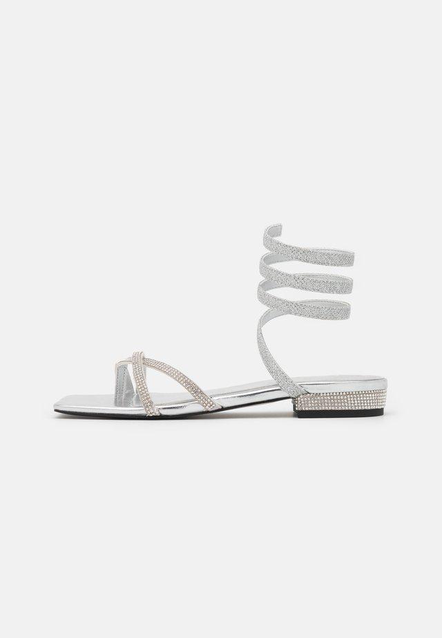 Sandály - silver