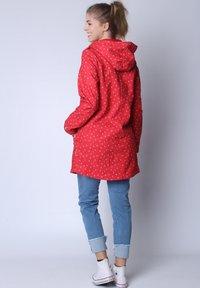 Strange - SARAH  - Short coat - red cherries - 2