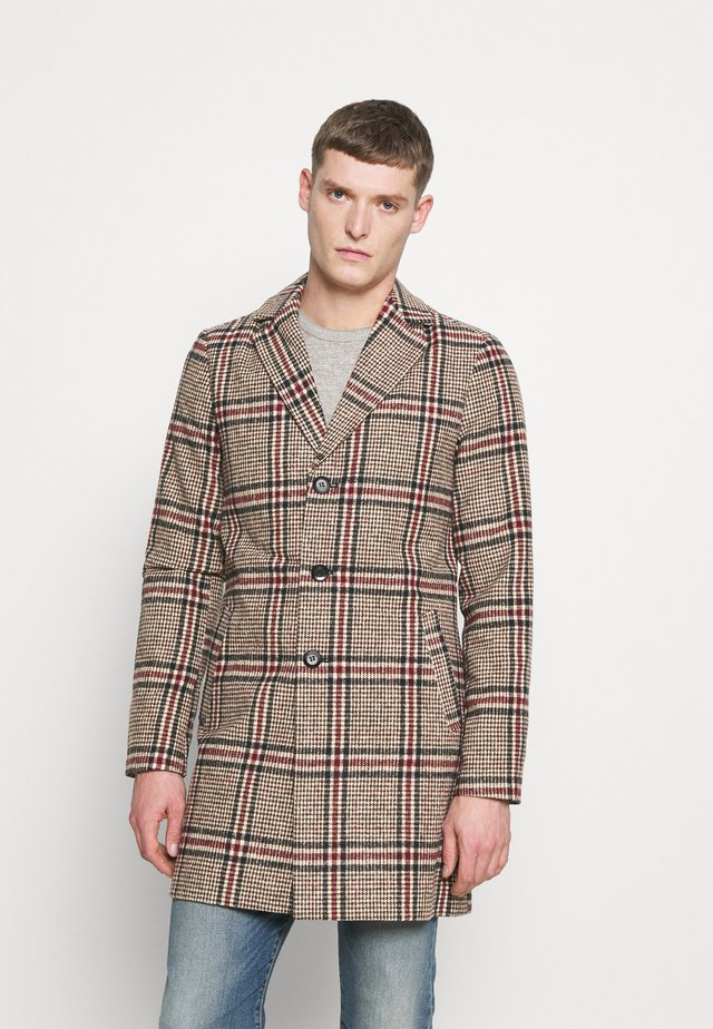 FINLEY - Classic coat - brown