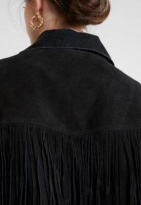 Levi's® Made & Crafted - LMC THE RANCH HANDLER - Veste en jean - black/grey - 4