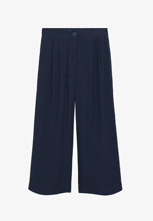 BYE - Kalhoty - azul marino oscuro