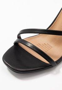 Rubi Shoes by Cotton On - LORINDA STRAPPY - Sandaler med høye hæler - black - 2
