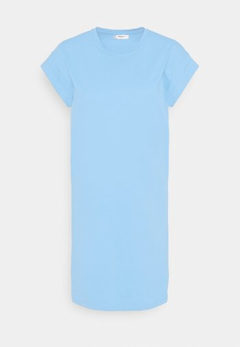 ALVIDERA ADDI PLAIN DRESS - Jersey dress - lake blue