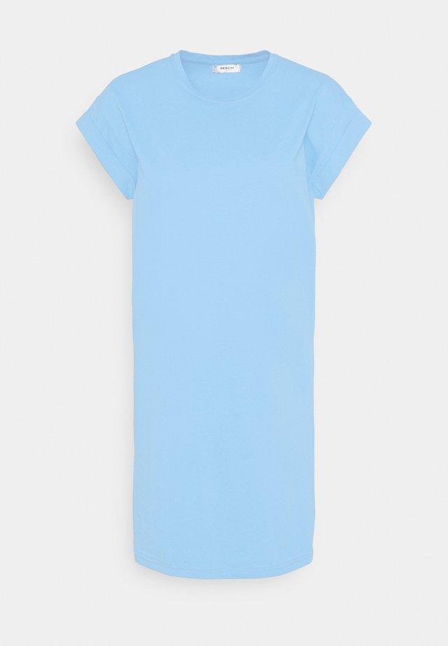 ALVIDERA ADDI PLAIN DRESS - Sukienka z dżerseju - lake blue