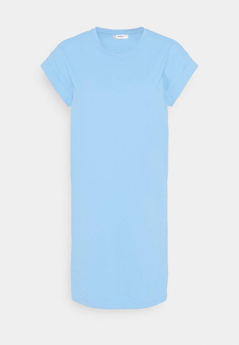 Moss Copenhagen - ALVIDERA ADDI PLAIN DRESS - Jersey dress - lake blue