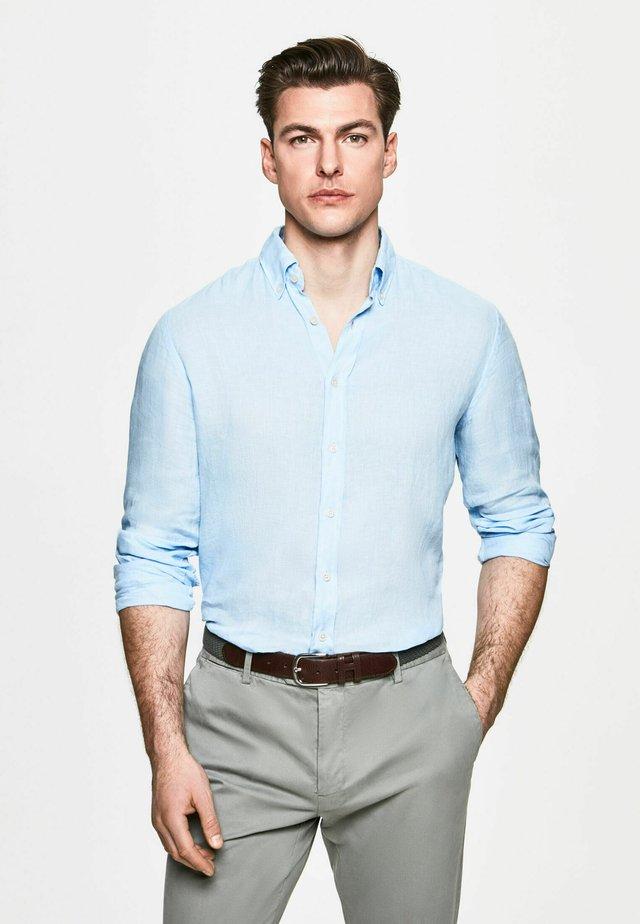 GARMENT DYE - Shirt - chambray