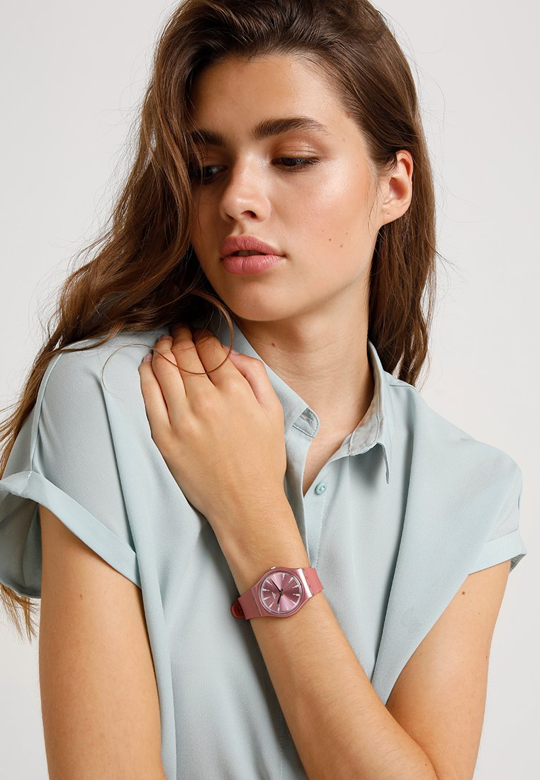Swatch - PASTELBAYA - Klokke - rosa