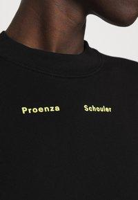 Proenza Schouler White Label - MODIFIED RAGLAN SOLID - Sweatshirt - black - 7