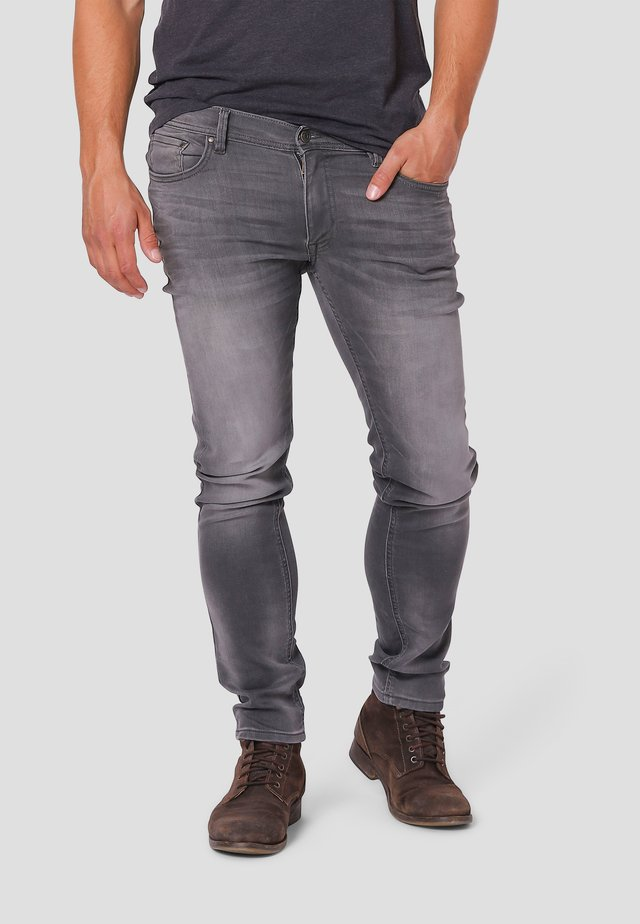 Jeans Straight Leg - grey stone wash