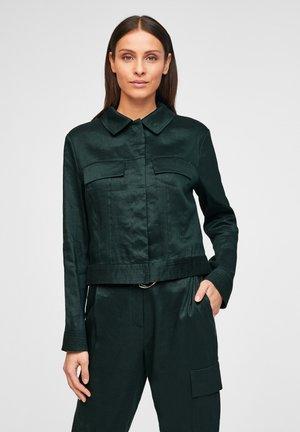 Korte jassen - dark green