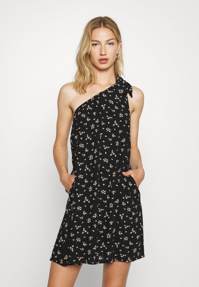 ASYM DRESS - Day dress - black