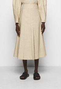 3.1 Phillip Lim - PLEATED A LINE SKIRT - A-line skirt - beige - 0
