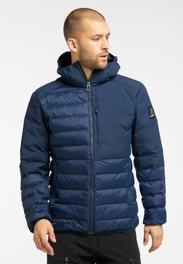 DALA MIMIC HOOD MEN - Winter jacket - tarn blue