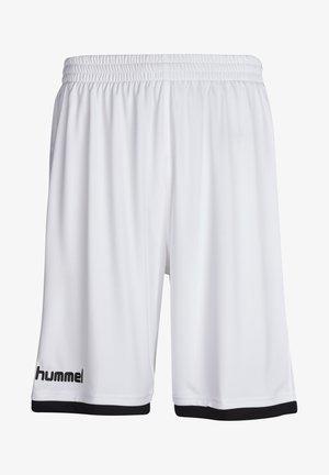 CORE BASKET - Sports shorts - white