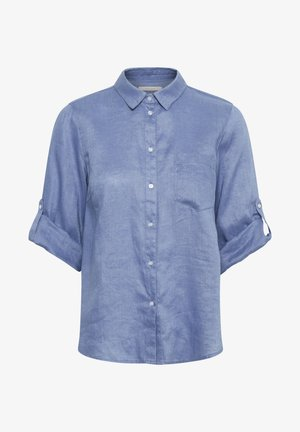Overhemdblouse - colony blue