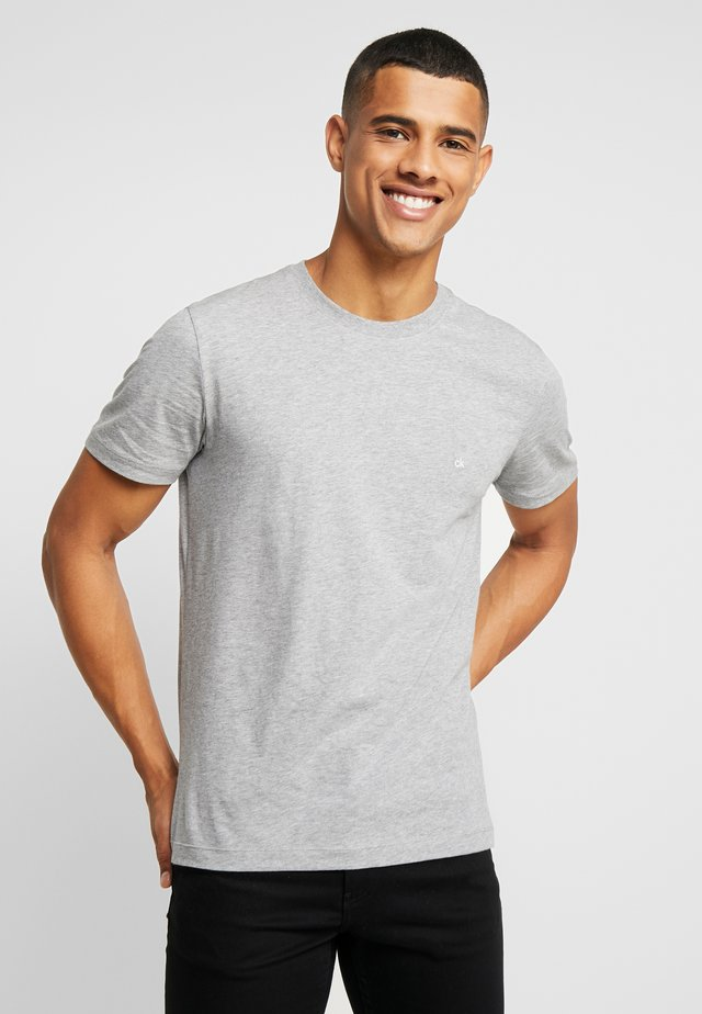 Basic T-shirt - mid grey heather