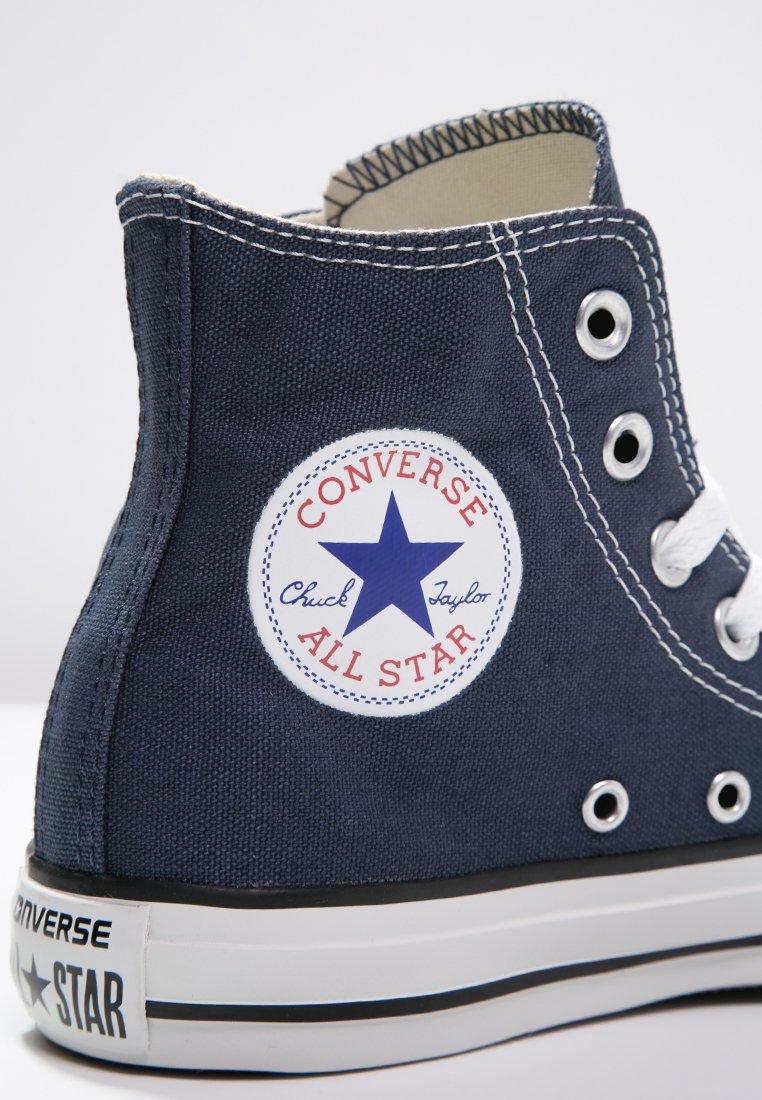 Converse CHUCK TAYLOR ALL STAR HI - Sneakers alte - navy/blu scuro ...