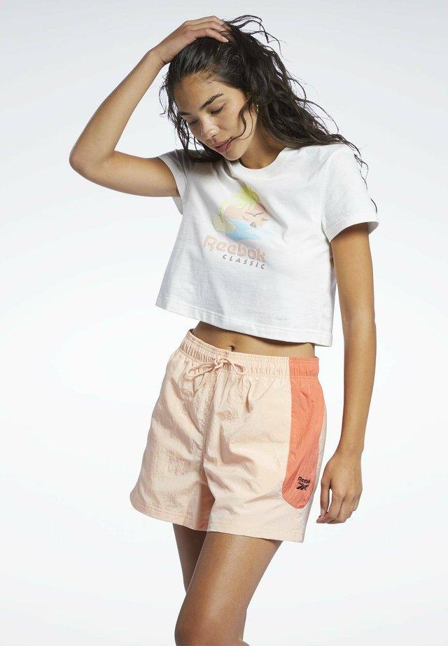 CLASSICS - T-shirt imprimé - white