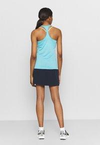 Salewa - AGNER HYBRID DRI TANK - T-shirt de sport - maui blue melange - 2