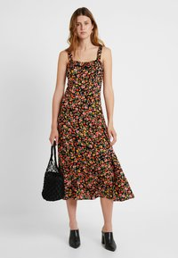 Dorothy Perkins Tall - DITSY CAMI DRESS - Maxi dress - black - 1