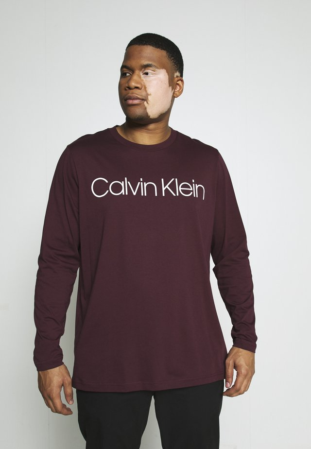 LOGO - Long sleeved top - purple