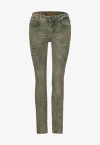 Street One - COLOUR-DENIM IM STYLE - Slim fit jeans - grün - 3