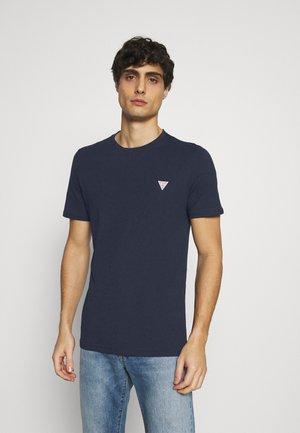 TEE - Basic T-shirt - blue navy