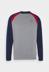 Lyle & Scott - THREE PANEL - Sweatshirt - mid grey marl - 4