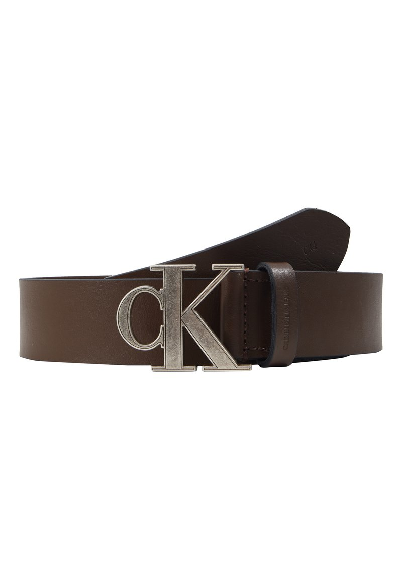 Calvin Klein Jeans - MONO HARDWARE - Pásek - brown
