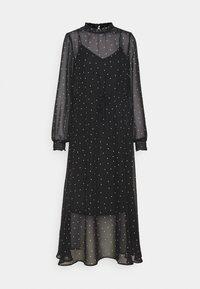 ONLY - ONLTRACY MIDI DRESS  - Denní šaty - black - 3