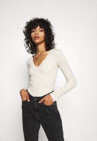 Missguided - NECK BODY - Trui - sand - 0