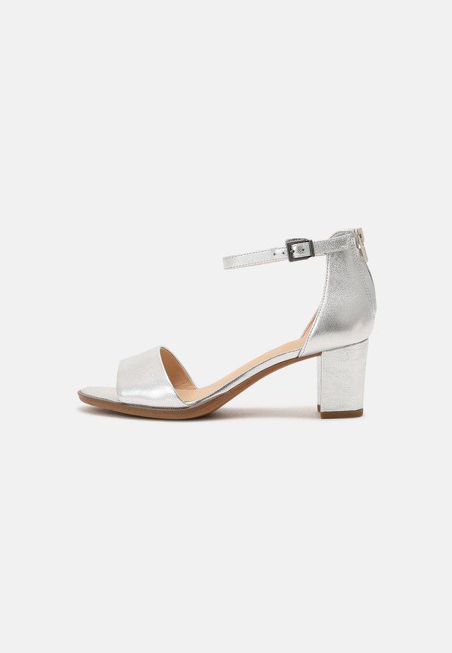 KAYLIN - Sandals - silver