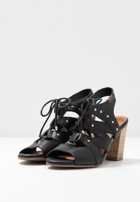 Carmela - High heeled sandals - black - 4