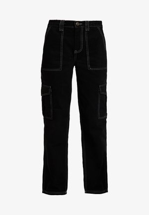 CONTRAST SKATE - Jeans relaxed fit - black