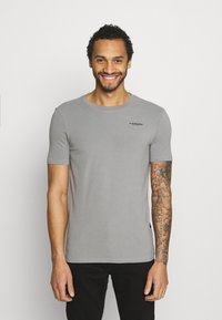 G-Star - SLIM BASE R T S\S - Basic T-shirt - charcoal - 0