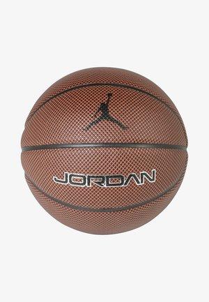 LEGACY 8P - Basketbal - dark amber/black/metallic silver