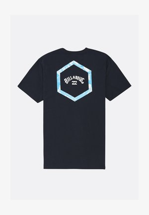 ACCESS - Print T-shirt - navy