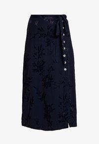 Leon & Harper - JAYGGER - A-line skirt - black iris - 3