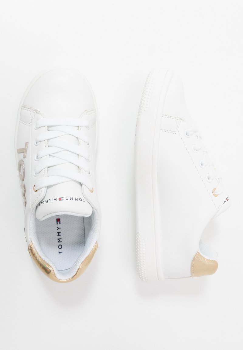 Tommy Hilfiger - Sneakers laag - white/gold