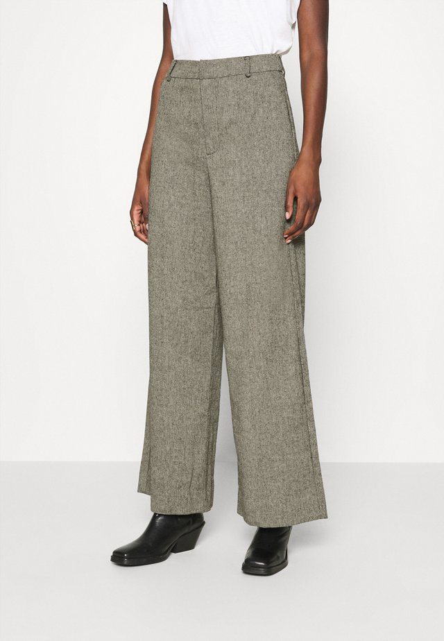 LIDAGZ  - Pantaloni - black/white