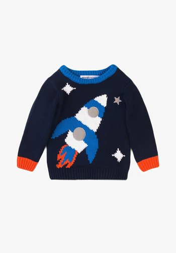 KNNITED - Maglione - navy