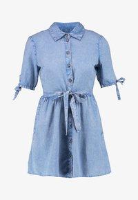 Miss Selfridge Petite - SHIRT DRESS - Farkkumekko - blue - 5