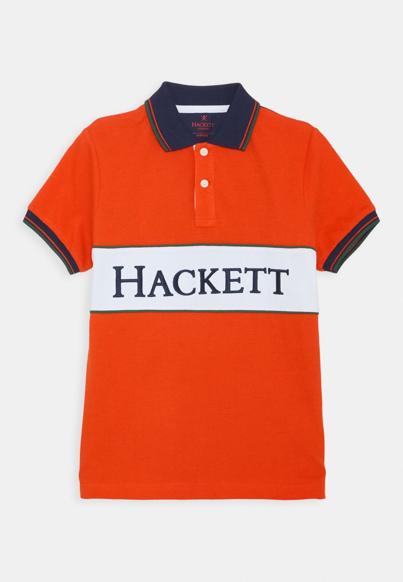 Hackett London - CHEST PANEL - Polo shirt - red