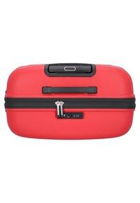 Hardware - TOKYO - Wheeled suitcase - red - 5