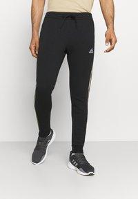 adidas Performance - CAMO - Träningsbyxor - black/white - 0