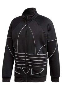 adidas Originals - BIG TREFOIL OUTLINE TRACK TOP - Training jacket - black - 9
