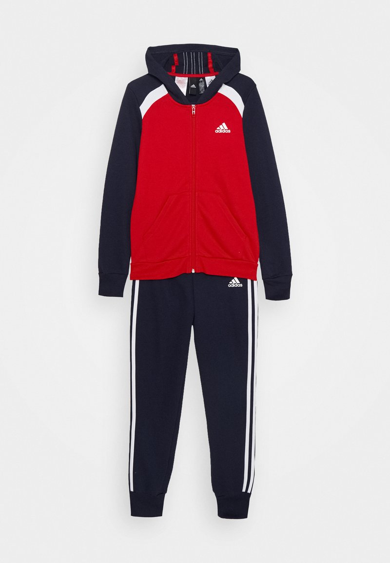adidas Performance - HOODIE TRAINING SPORTS TRACKSUIT - Dres - scarlet/legend ink/white