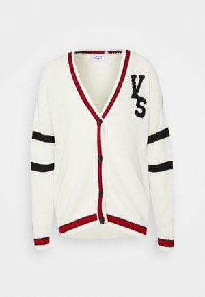 VARSITY UNISEX - Zip-up sweatshirt - cream