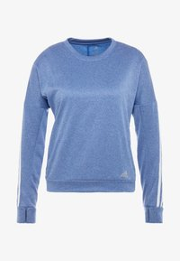 adidas Performance - CLIMALITE RUNNING LONG SLEEVE PULLOVER - Sudadera - croyal - 7